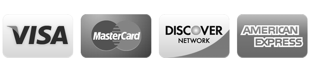 Accepting Visa, MasterCard, Discover Card and American Express